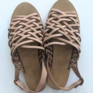 Women's Topshop Woven sandals size 39